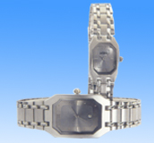 Southwestern stainless steel suppliers distributors wholeslae collection offering octagonal face design stainless steel band fashion wtach set.